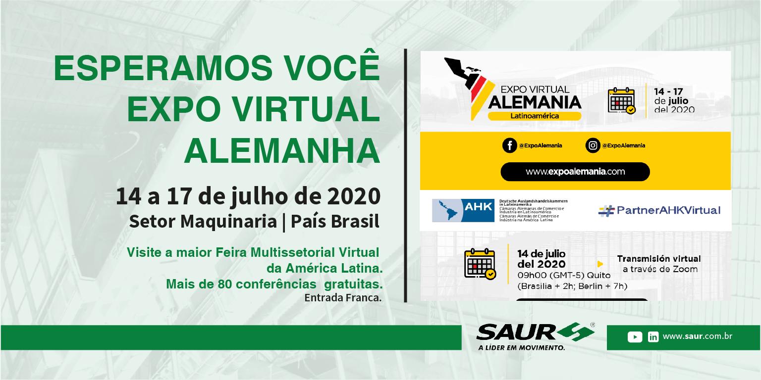 PARTICIPE DA EXPO VIRTUAL ALEMANHA