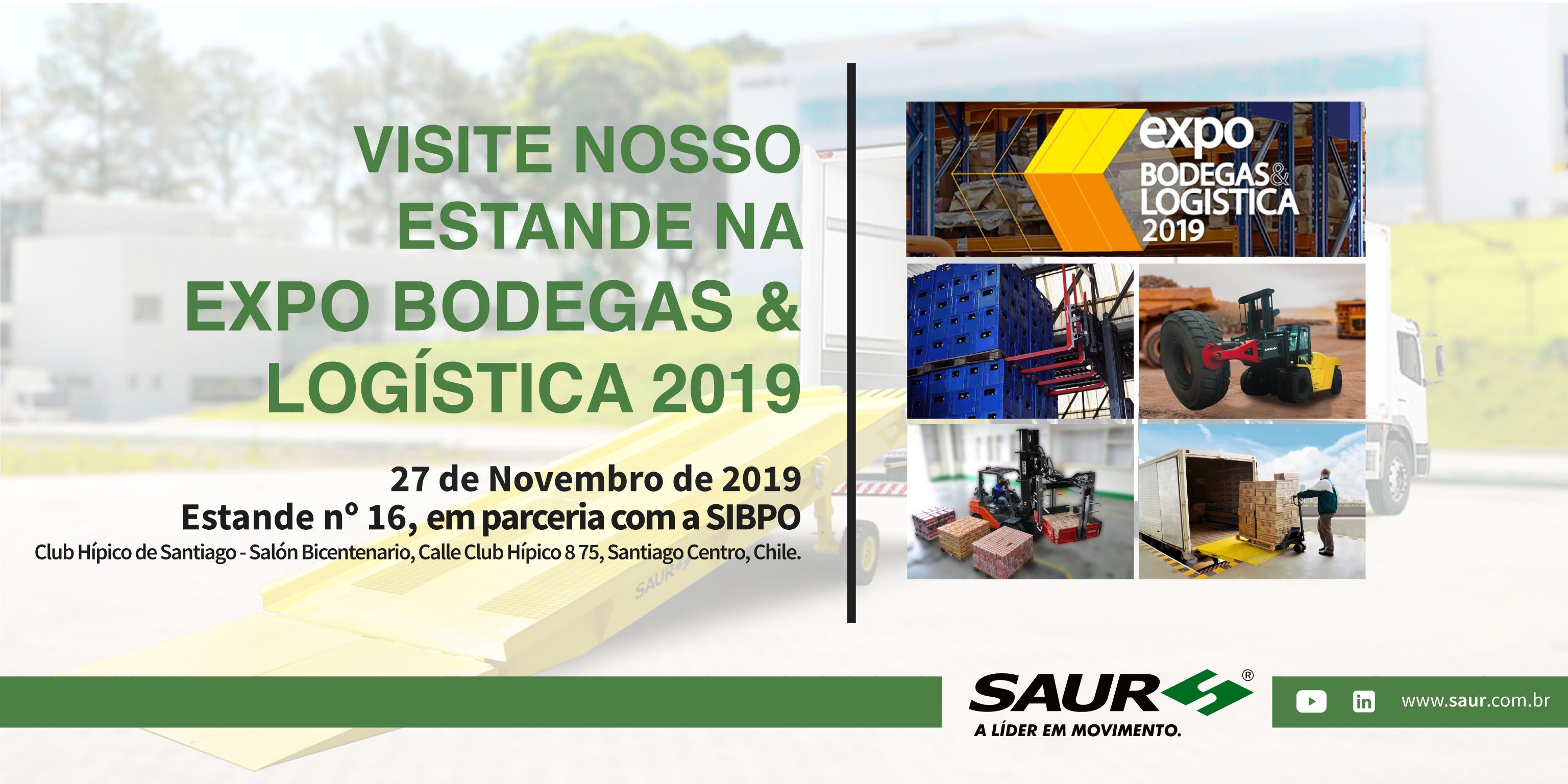 VISITE-NOS NA EXPO BODEGAS & LOGÍSTICA 2019