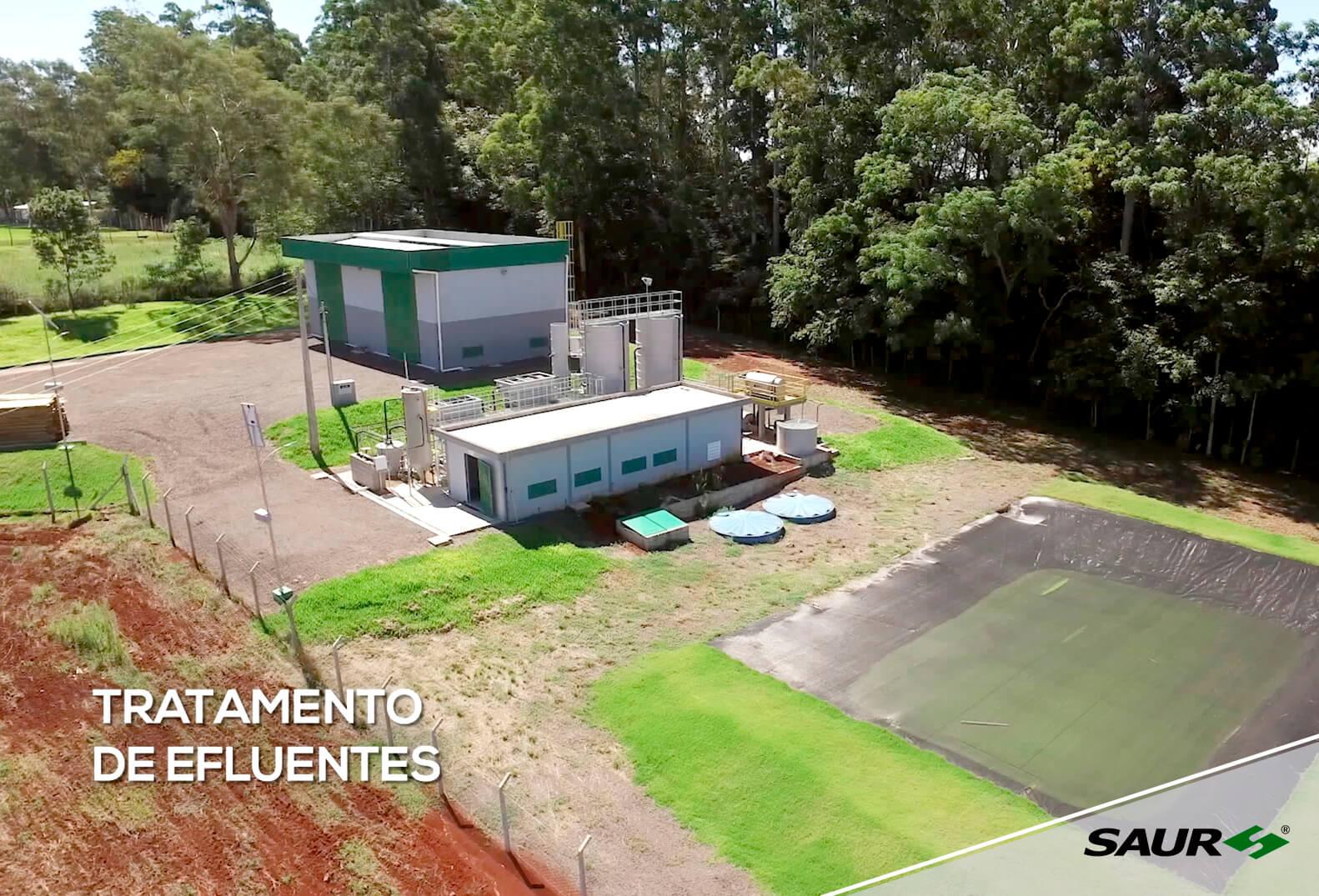 Preservação do Meio Ambiente – Estação de Tratamento de Efluentes