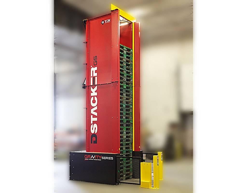 Dstacker GS - Sistema Organizador e Distribuidor de Paletes