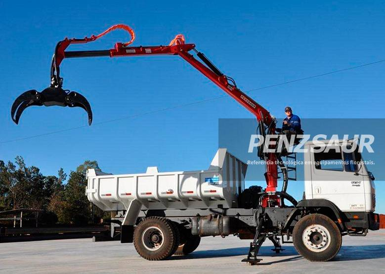 Grua Florestal 3.60 METRIC para camiones