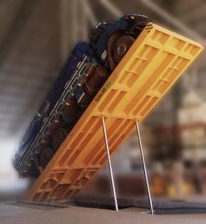 Plataforma de Descarga Traseira 08 metros