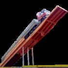 Plataforma de Descarga Traseira 30 metros