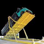 Plataforma de Descarga Traseira com Deslocamento
