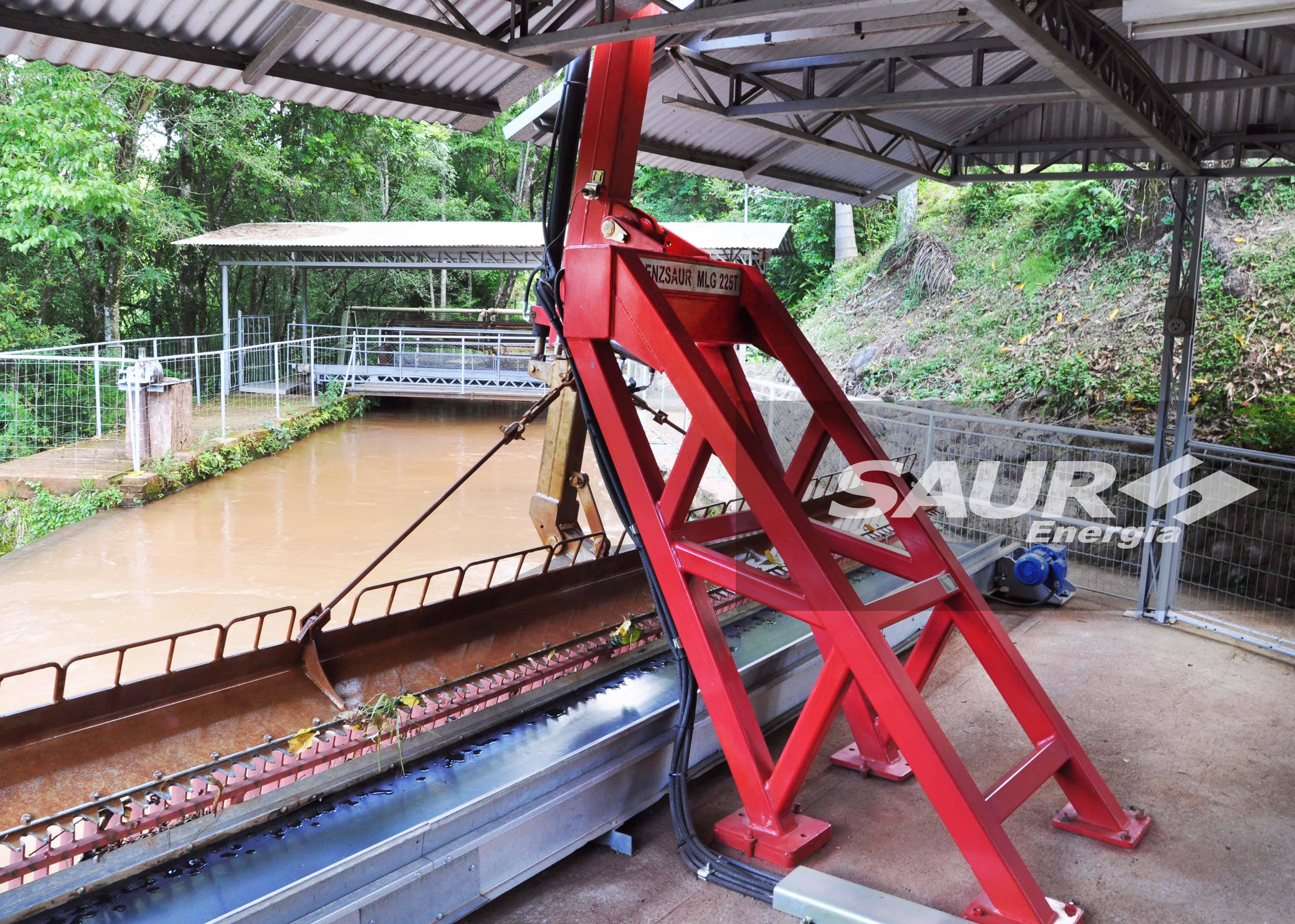 Máquina Limpa Grades para Usinas Hidrelétricas - PCH